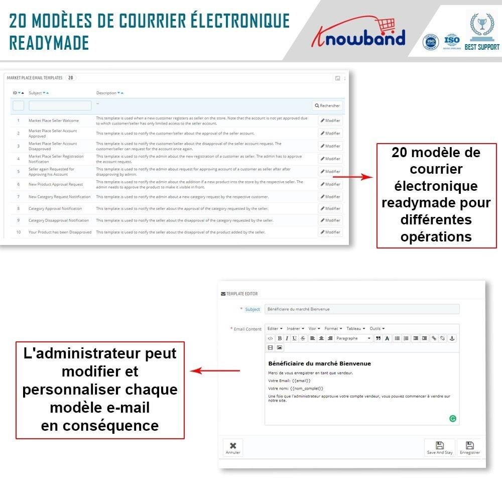 module - Création de Marketplace - Knowband - Prestashop Multi Vendor Marketplace - 22