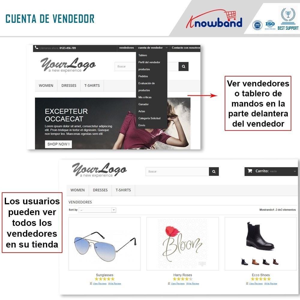 module - Creación de Marketplace - Knowband - Multi Vendor Marketplace - 1