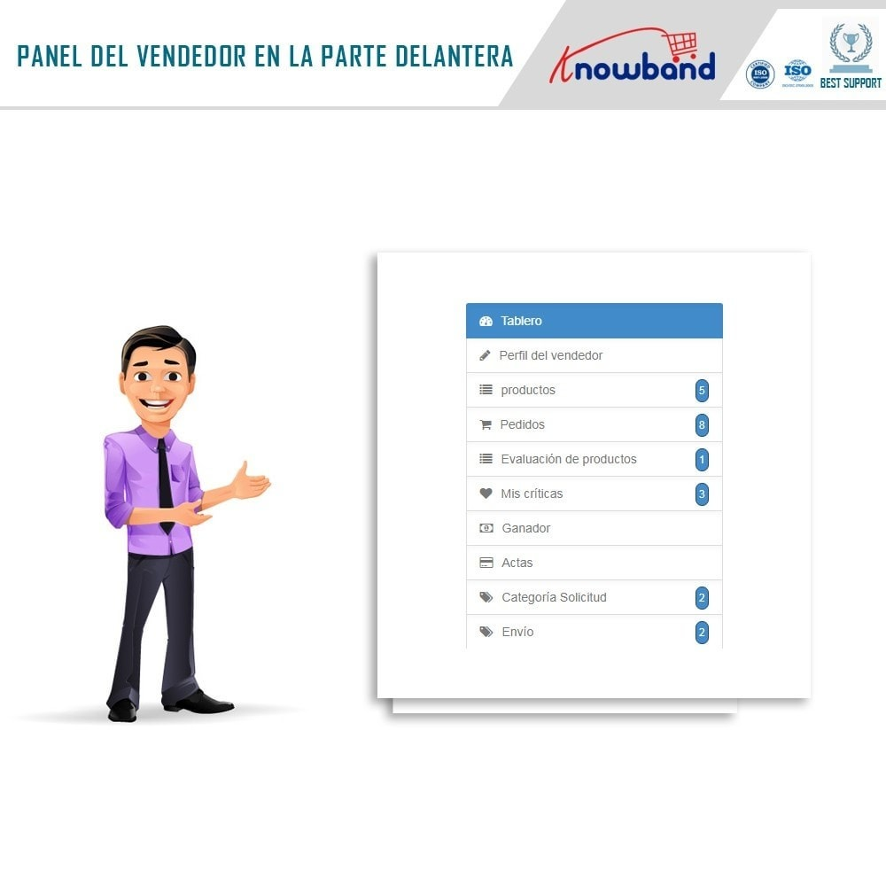 module - Creación de Marketplace - Knowband - Multi Vendor Marketplace - 2
