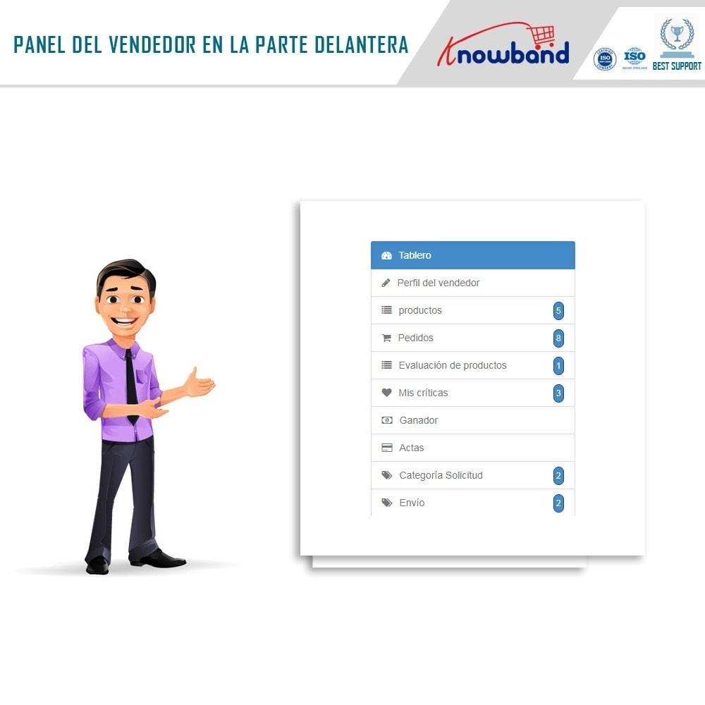 module - Creación de Marketplace - Knowband - Prestashop Multi Vendor Marketplace - 2