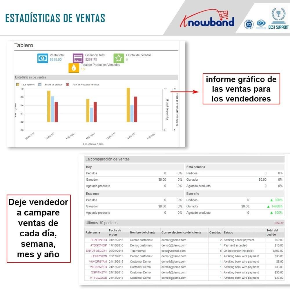 module - Creación de Marketplace - Knowband - Prestashop Multi Vendor Marketplace - 3