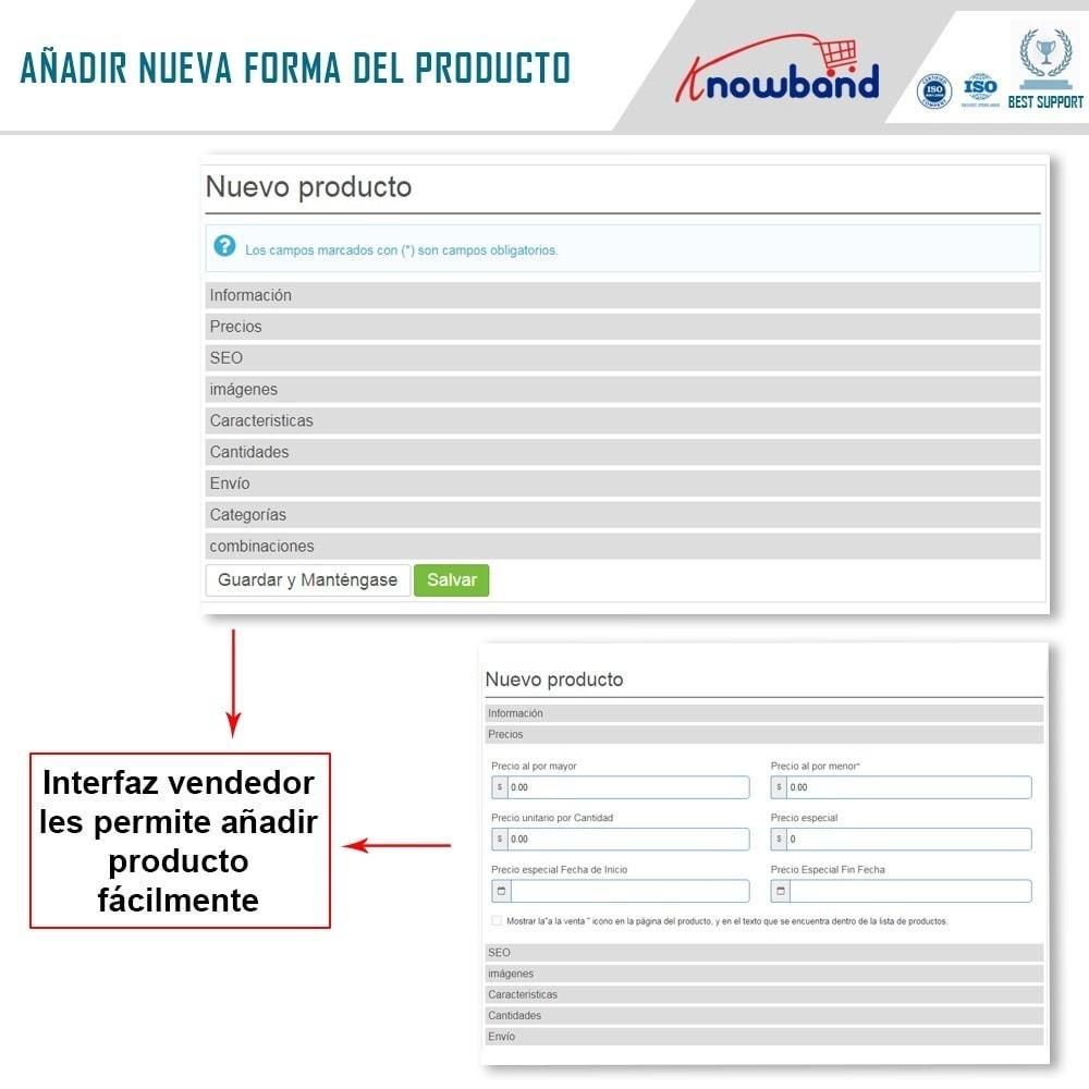 module - Creación de Marketplace - Knowband - Marketplace - 5