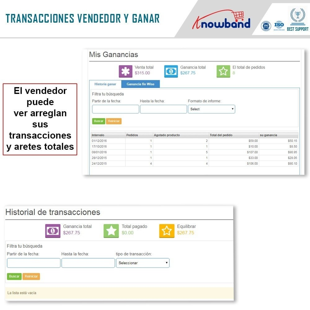 module - Creación de Marketplace - Knowband - Multi Vendor Marketplace - 8