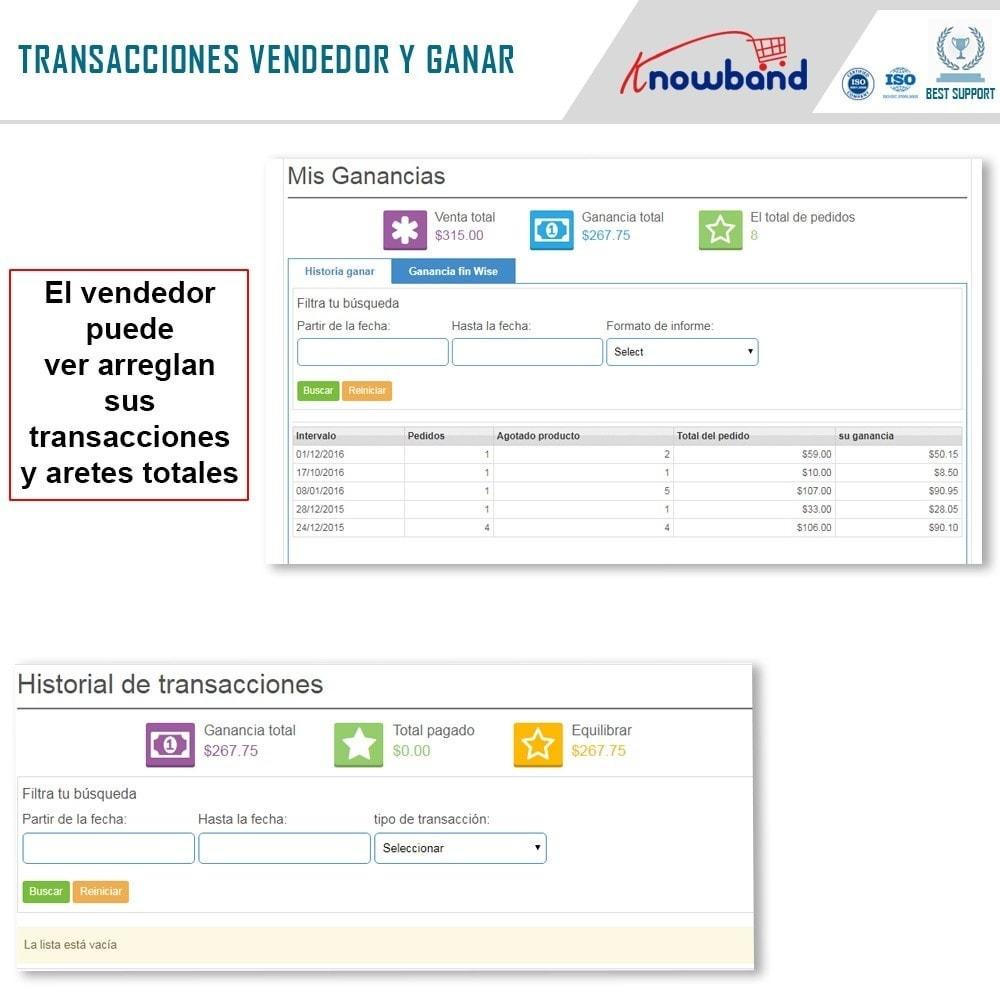 module - Creación de Marketplace - Knowband - Prestashop Multi Vendor Marketplace - 8