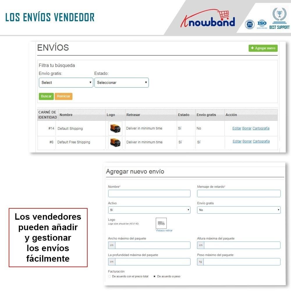 module - Creación de Marketplace - Knowband - Prestashop Multi Vendor Marketplace - 9