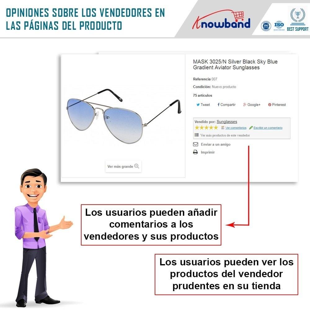 module - Creación de Marketplace - Knowband - Prestashop Multi Vendor Marketplace - 10