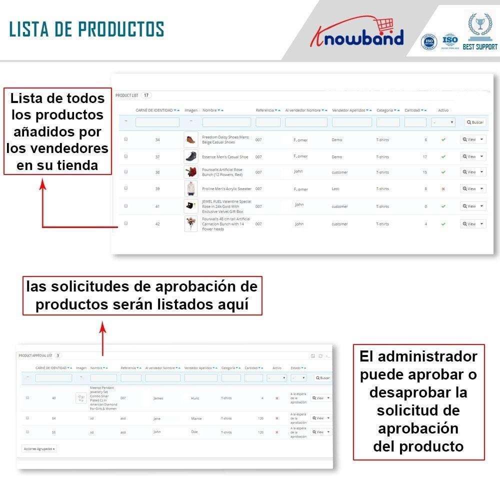 module - Creación de Marketplace - Knowband - Prestashop Multi Vendor Marketplace - 16