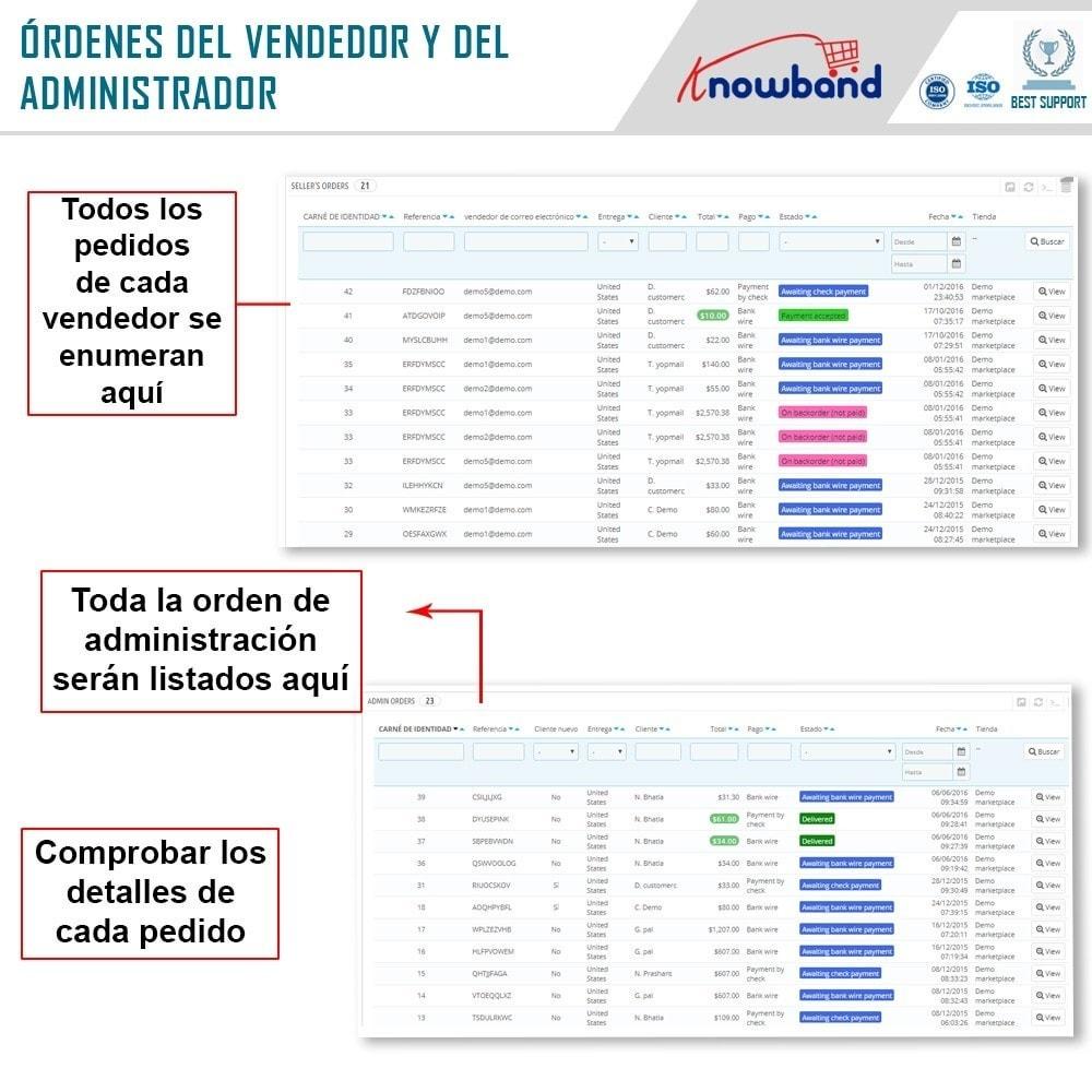 module - Creación de Marketplace - Knowband - Prestashop Multi Vendor Marketplace - 17
