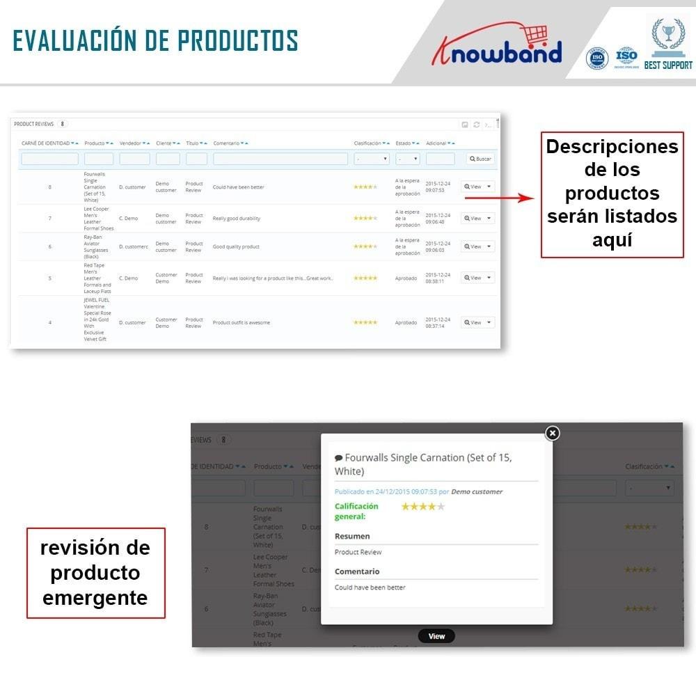 module - Creación de Marketplace - Knowband - Prestashop Multi Vendor Marketplace - 18
