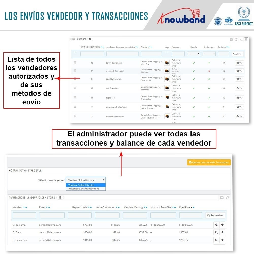 module - Creación de Marketplace - Knowband - Multi Vendor Marketplace - 20