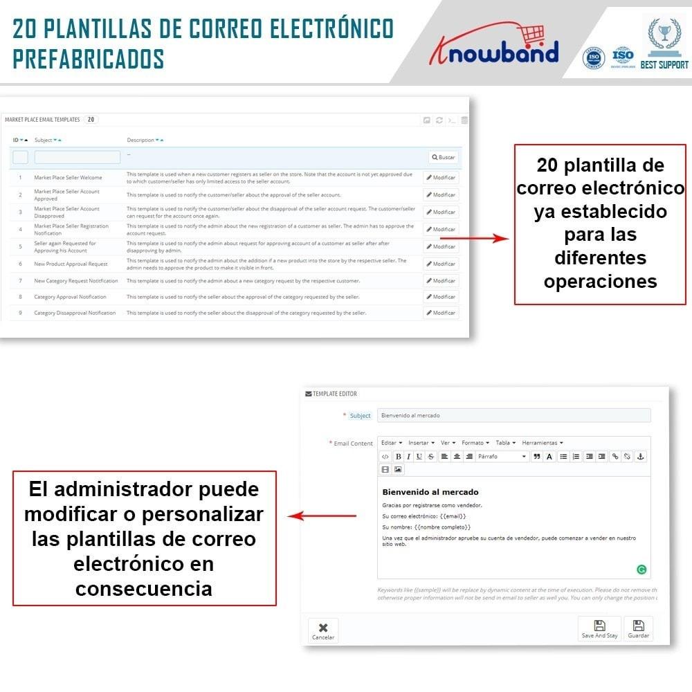 module - Creación de Marketplace - Knowband - Prestashop Multi Vendor Marketplace - 22