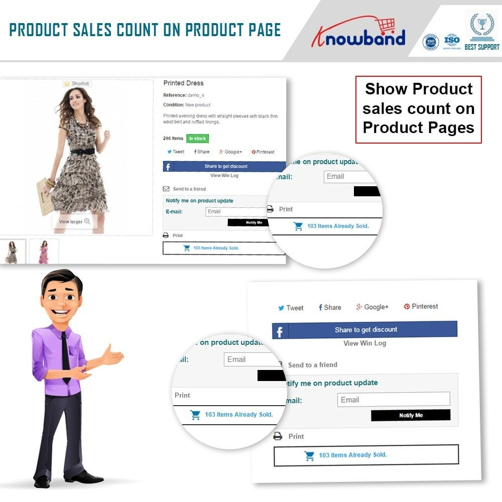 module - Additional Information & Product Tab - Knowband - Product Sales Count - 3