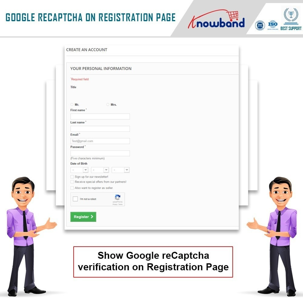 module - Security & Access - Knowband - Google reCaptcha - 3