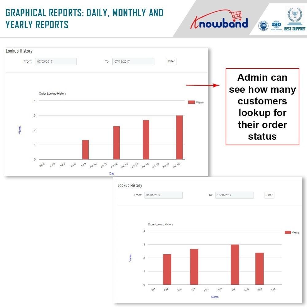 module - Zarządzanie zamówieniami - Knowband - Mobile Order Lookup - Track Order Status - 5