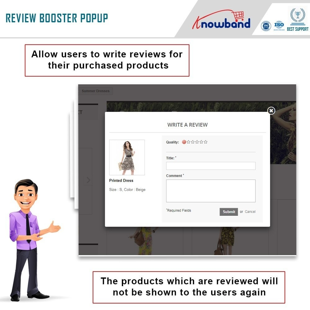 module - Customer Reviews - Knowband - Review Booster - 3