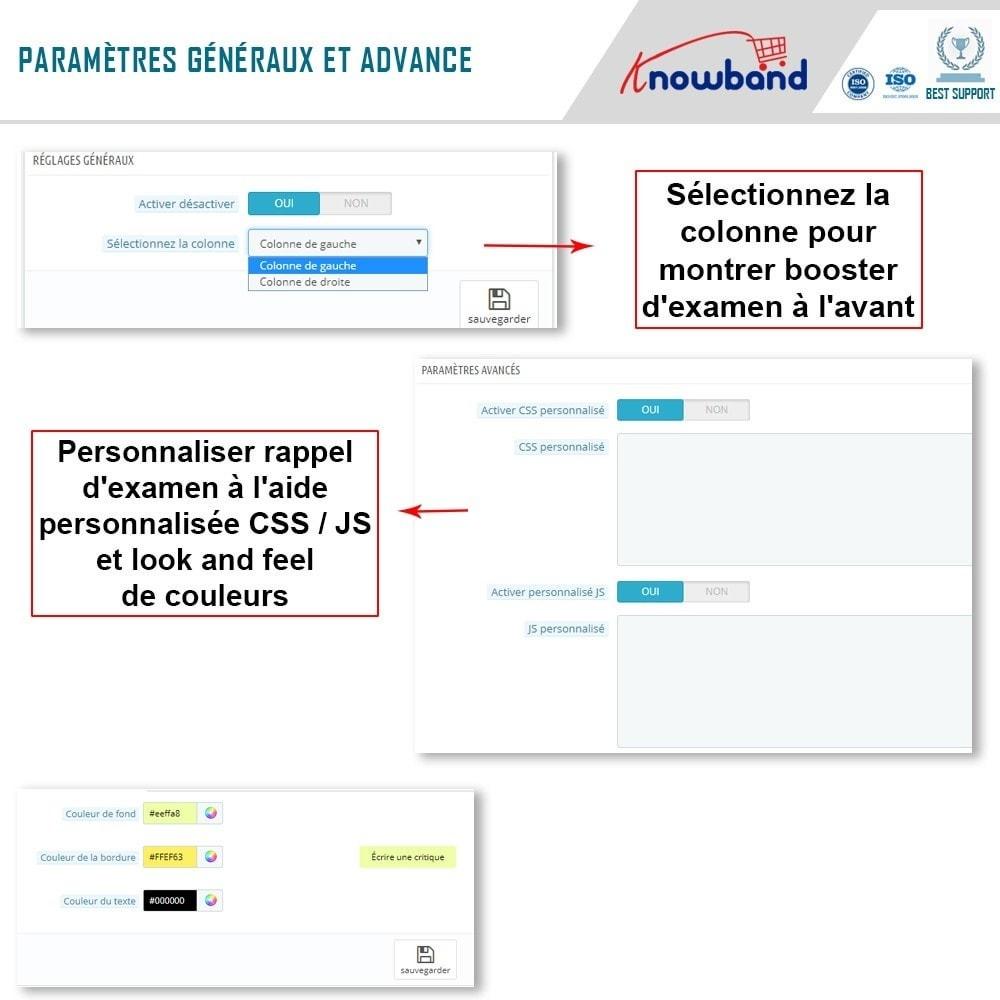 module - Avis clients - Knowband - Stimulateur de Revues - 5