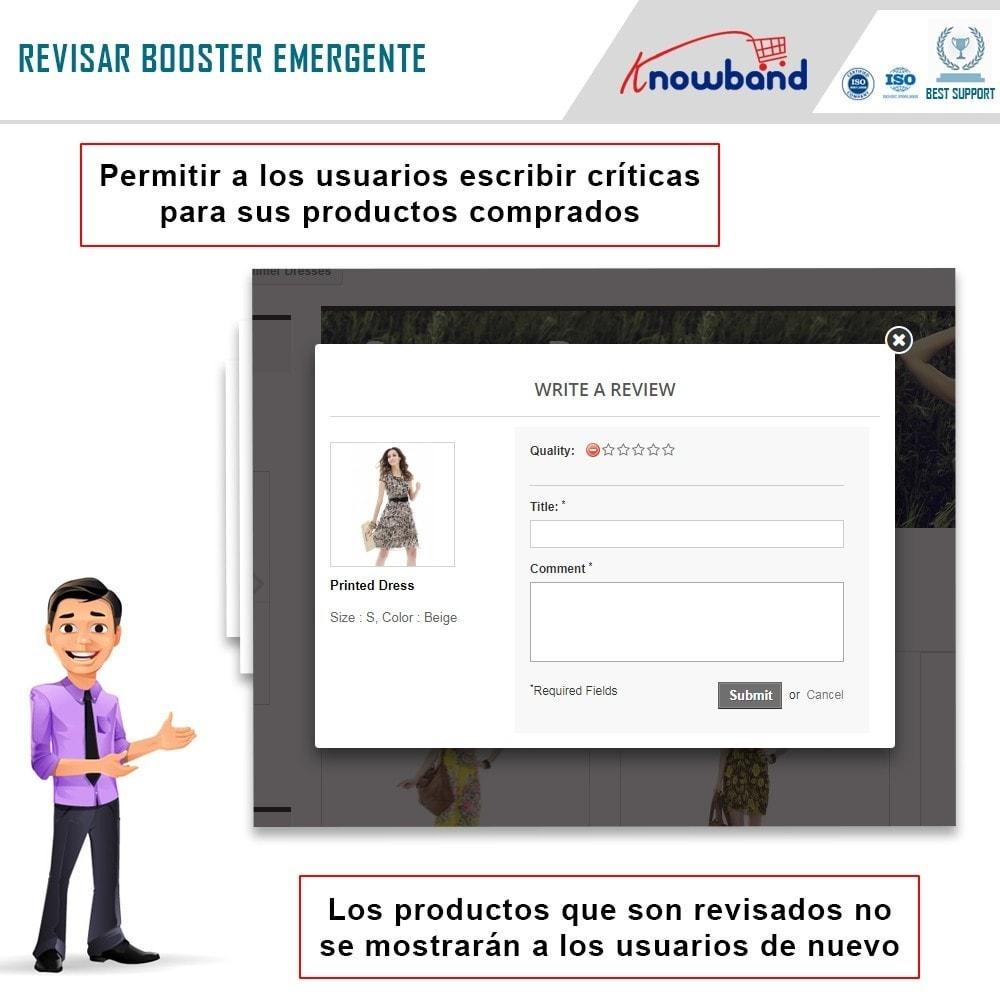 module - Comentarios de clientes - Knowband - Potenciador de Revisiones - 3