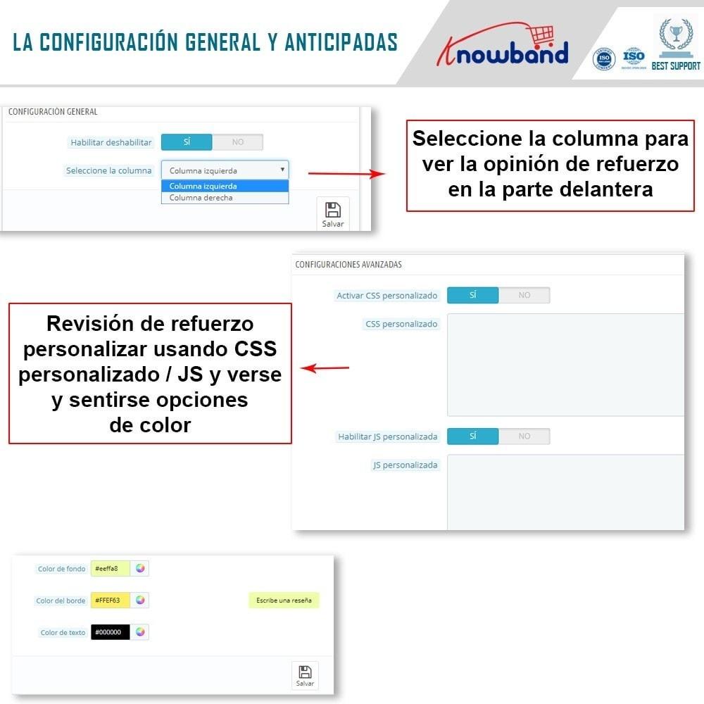 module - Comentarios de clientes - Knowband - Potenciador de Revisiones - 5