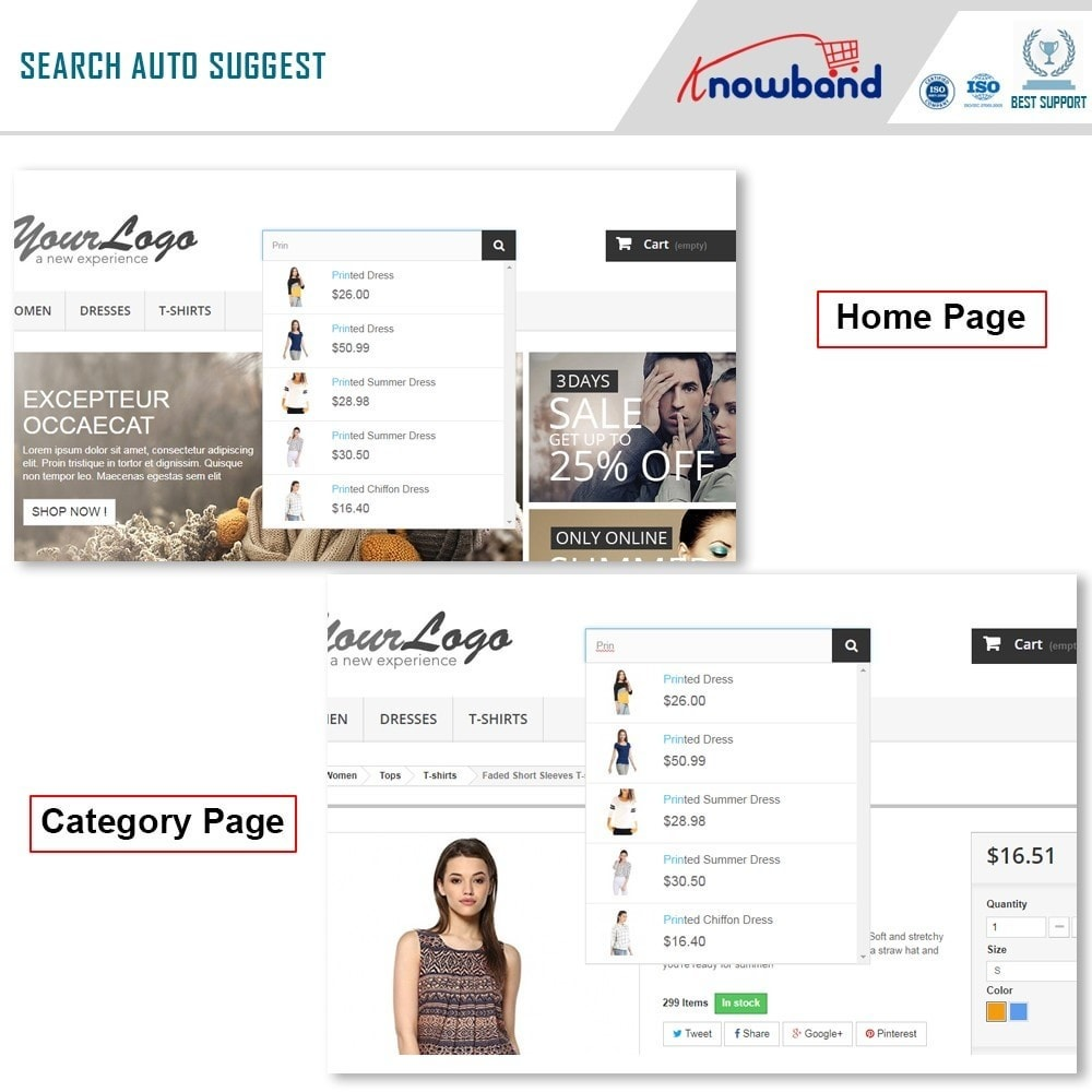 module - Search & Filters - Knowband - Search Auto Suggest - 2