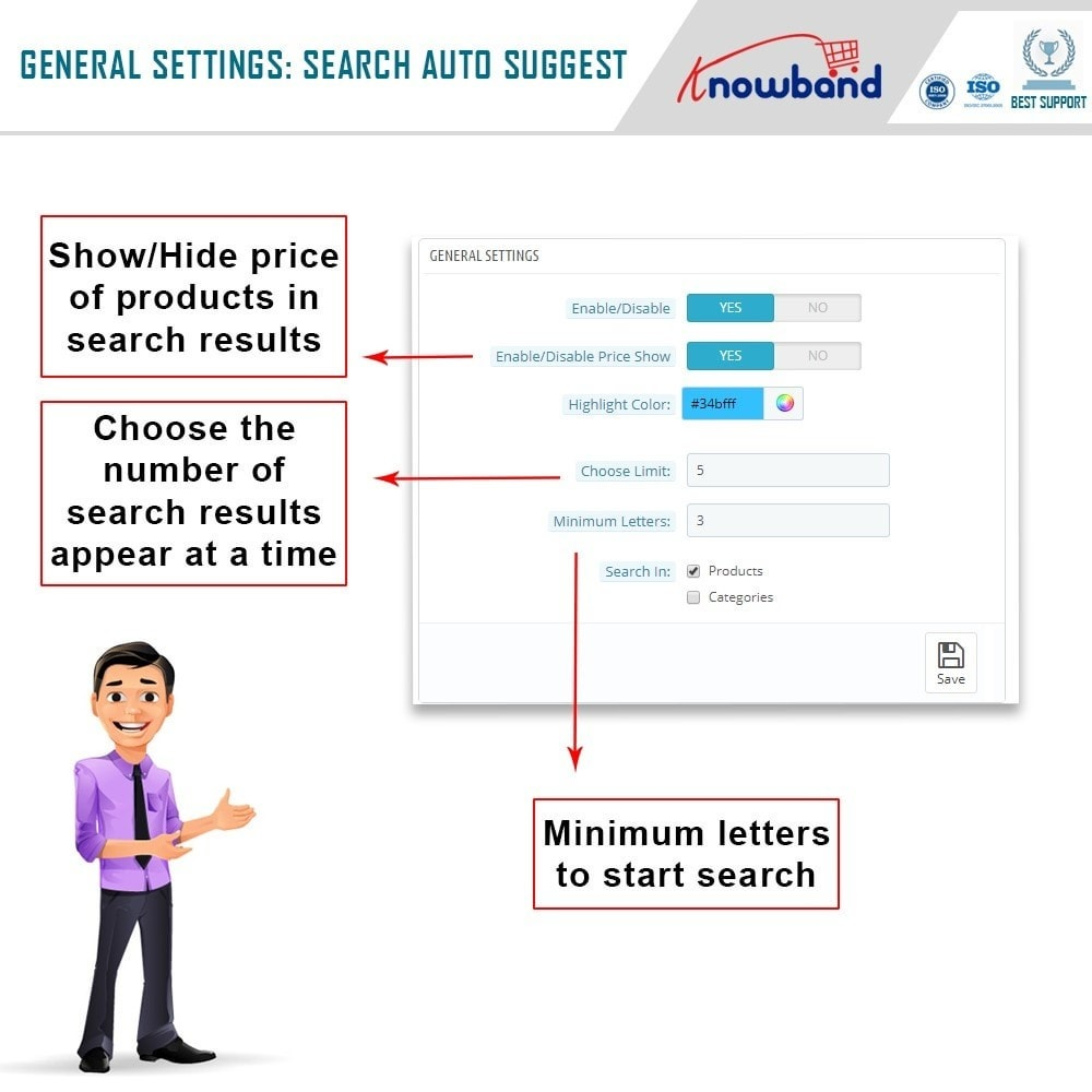 module - Search & Filters - Knowband - Search Auto Suggest - 3