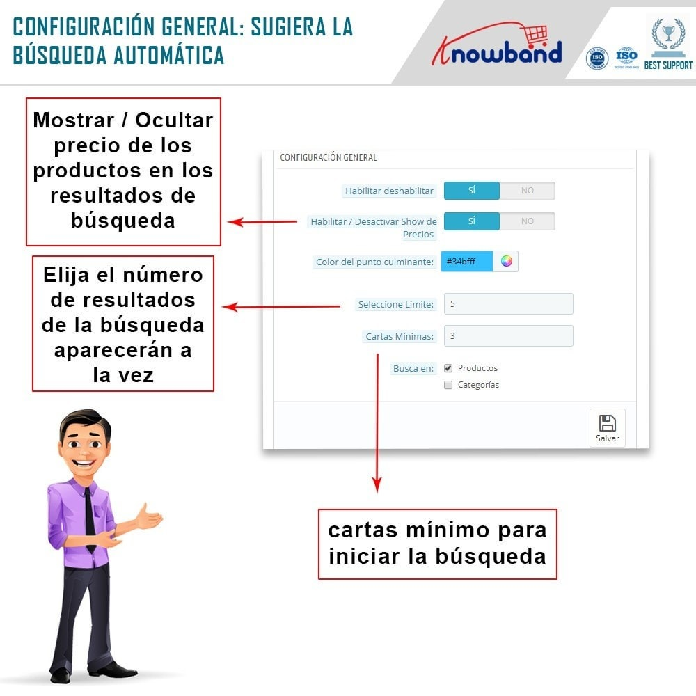 module - Recherche & Filtres - Knowband - Suggestion Automatique de Recherche - 3
