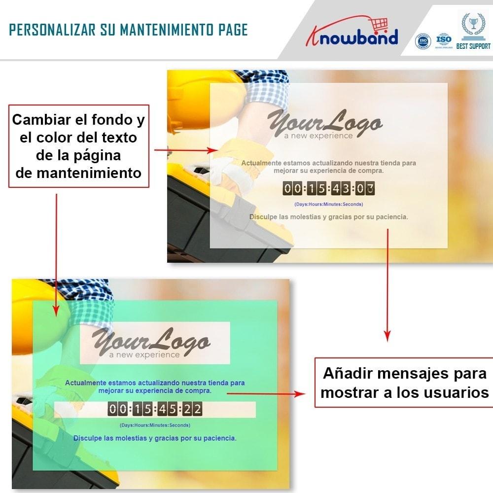 module - Personalización de la página - Knowband - Personalizador de la Página de Mantenimiento - 4