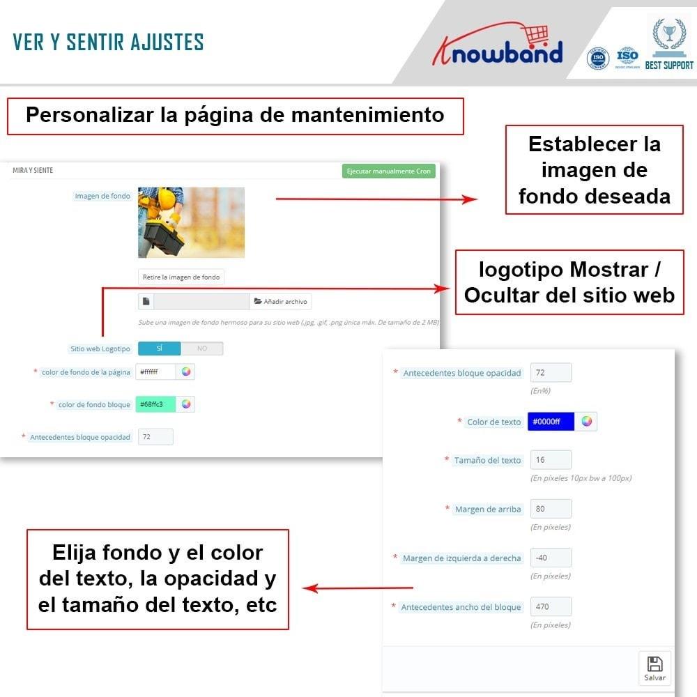 module - Personalización de la página - Knowband - Personalizador de la Página de Mantenimiento - 7