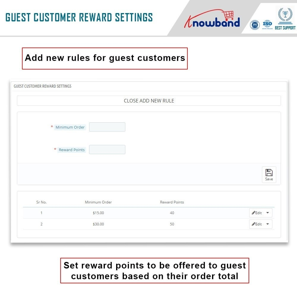 module - Referral & Loyalty Programs - Knowband - Reward points - 5