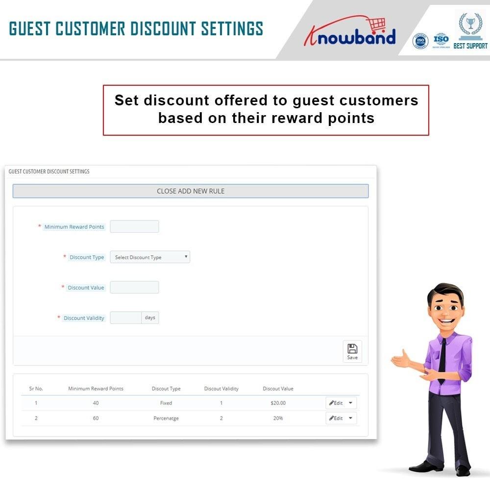 module - Lojalność & Rekomendowanie - Knowband - Reward points - 6