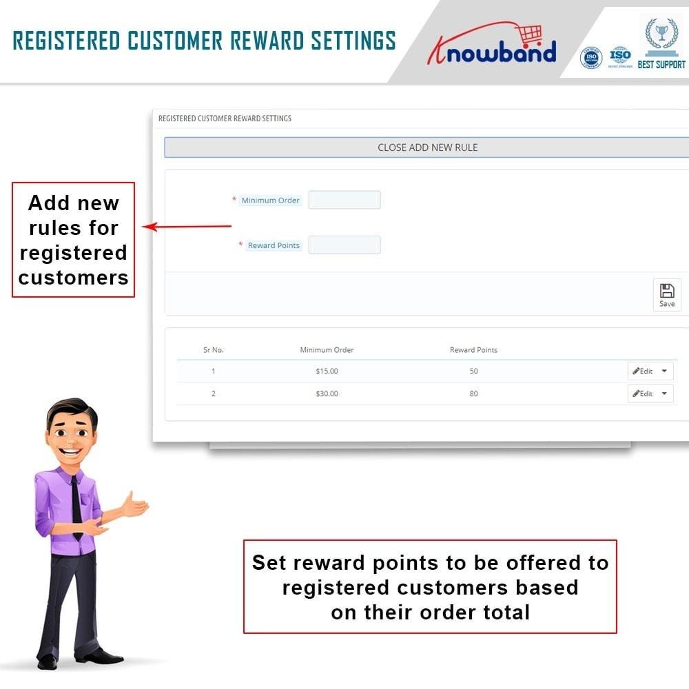 module - Referral & Loyalty Programs - Knowband - Reward points - 7