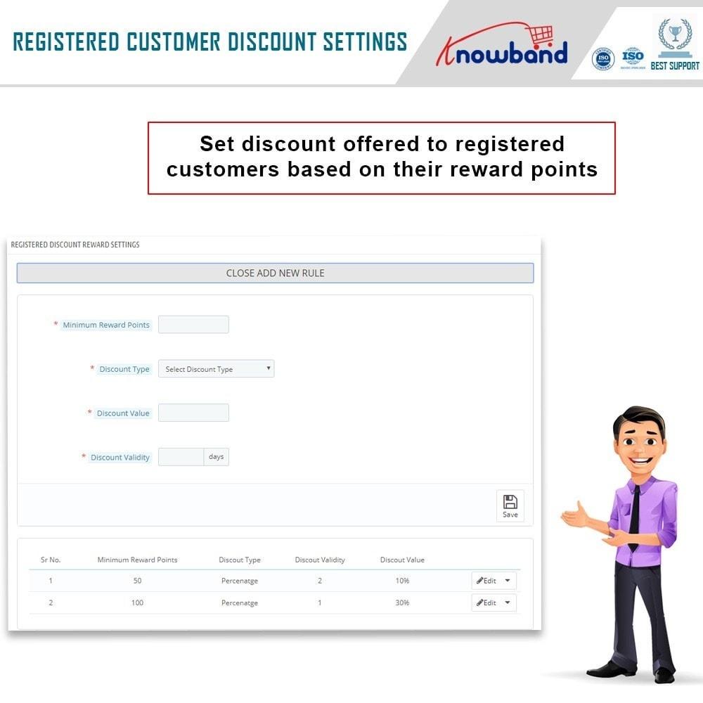 module - Lojalność & Rekomendowanie - Knowband - Reward points - 8