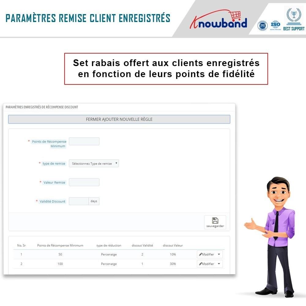 module - Fidélisation & Parrainage - Knowband - Points de Fidélité - 8