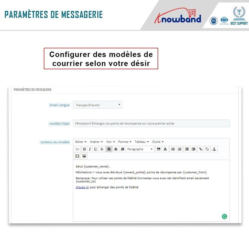 module - Fidélisation & Parrainage - Knowband - Points de Fidélité - 9