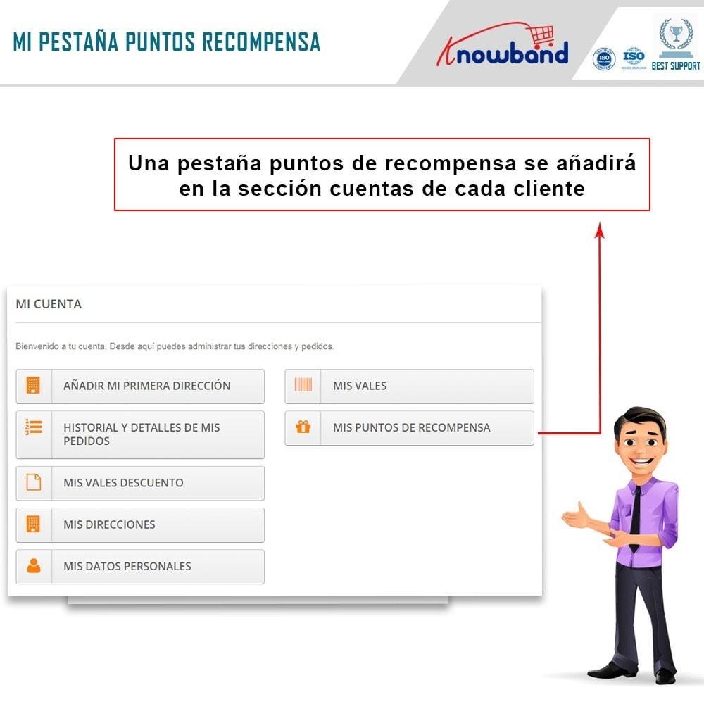module - Programa de Fidelidad - Knowband - Puntos de recompensa - 2