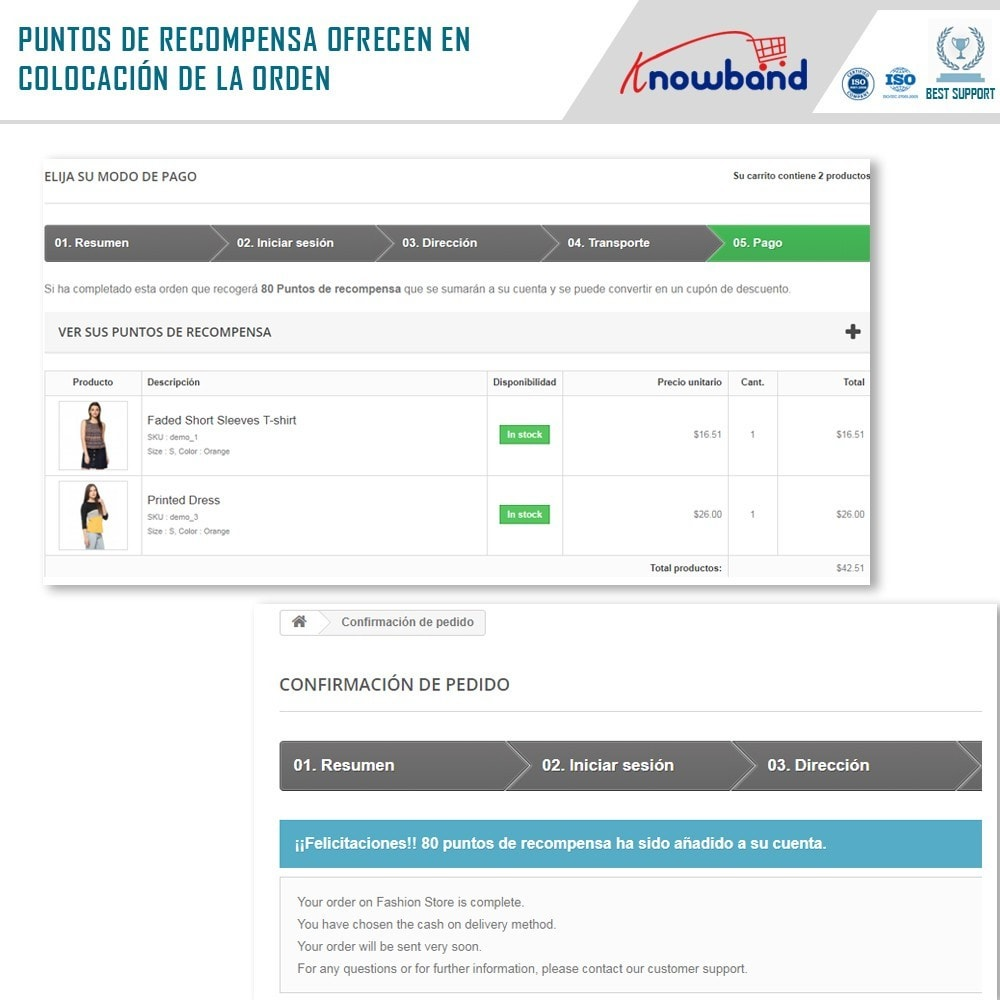 module - Programa de Fidelidad - Knowband - Puntos de recompensa - 3