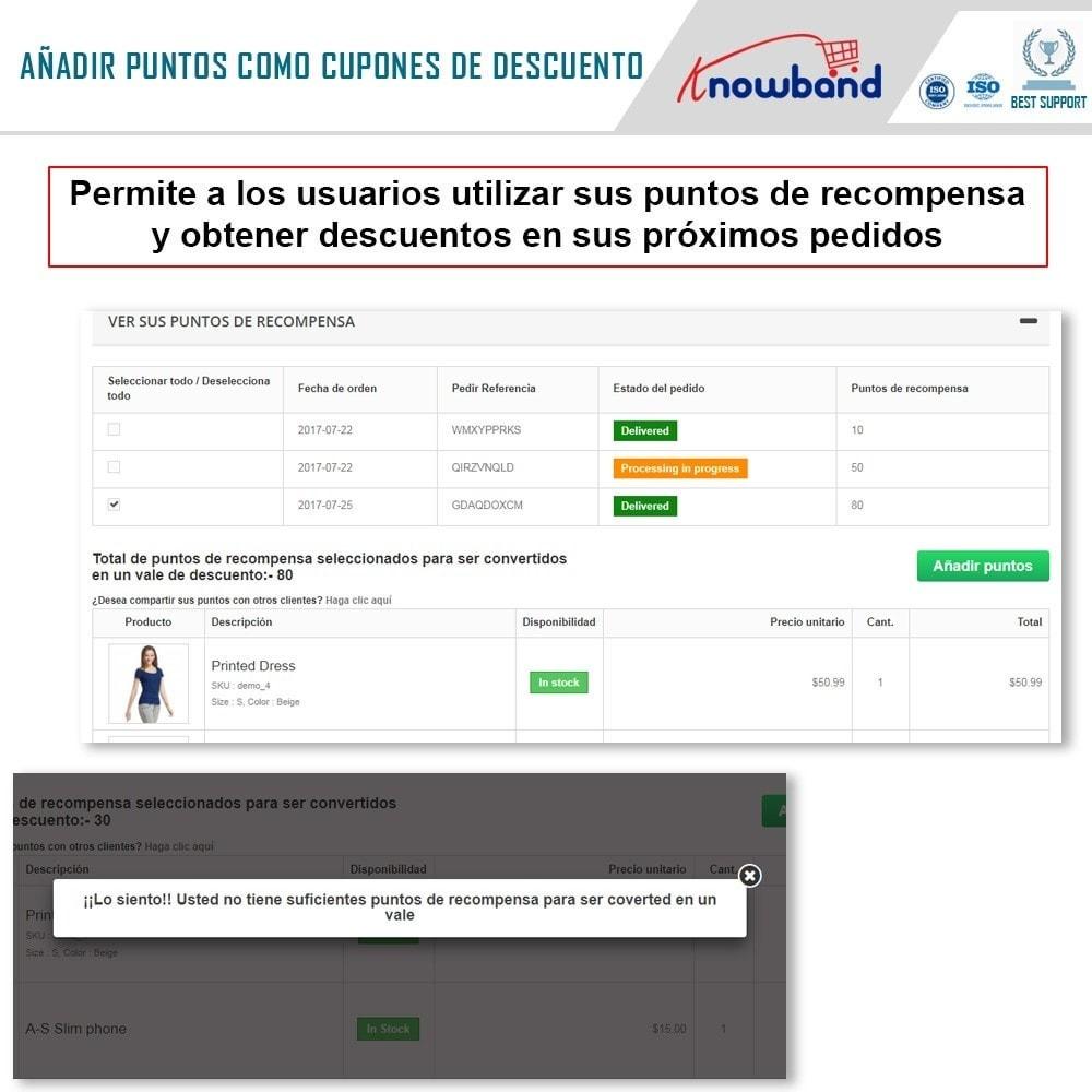 module - Programa de Fidelidad - Knowband - Puntos de recompensa - 4