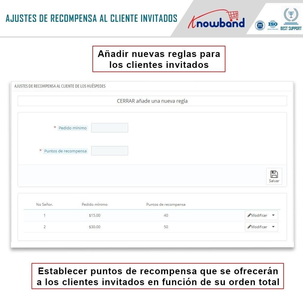 module - Programa de Fidelidad - Knowband - Puntos de recompensa - 5