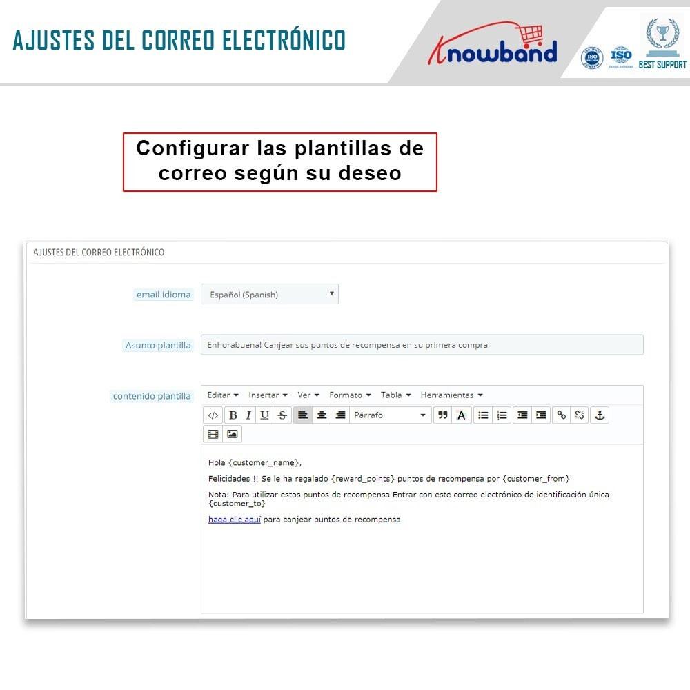 module - Programa de Fidelidad - Knowband - Puntos de recompensa - 9