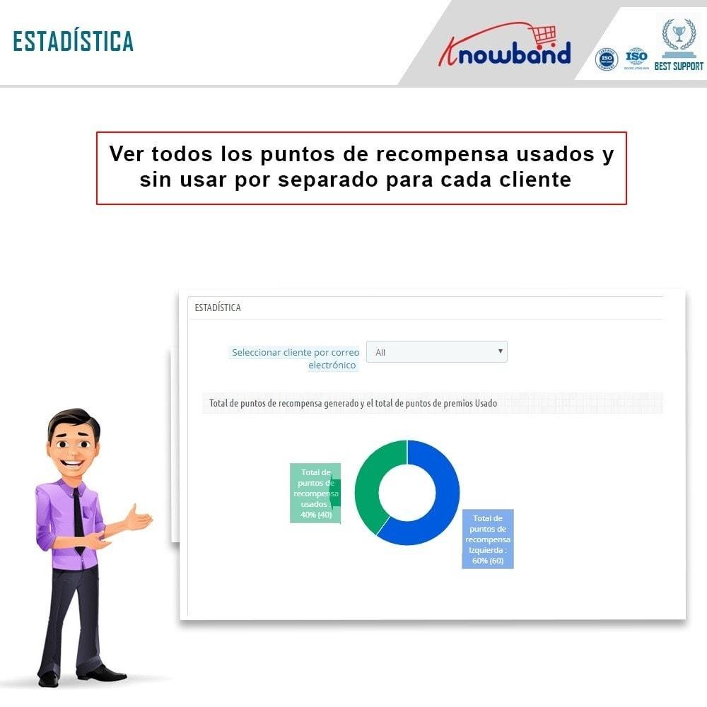 module - Programa de Fidelidad - Knowband - Puntos de recompensa - 10