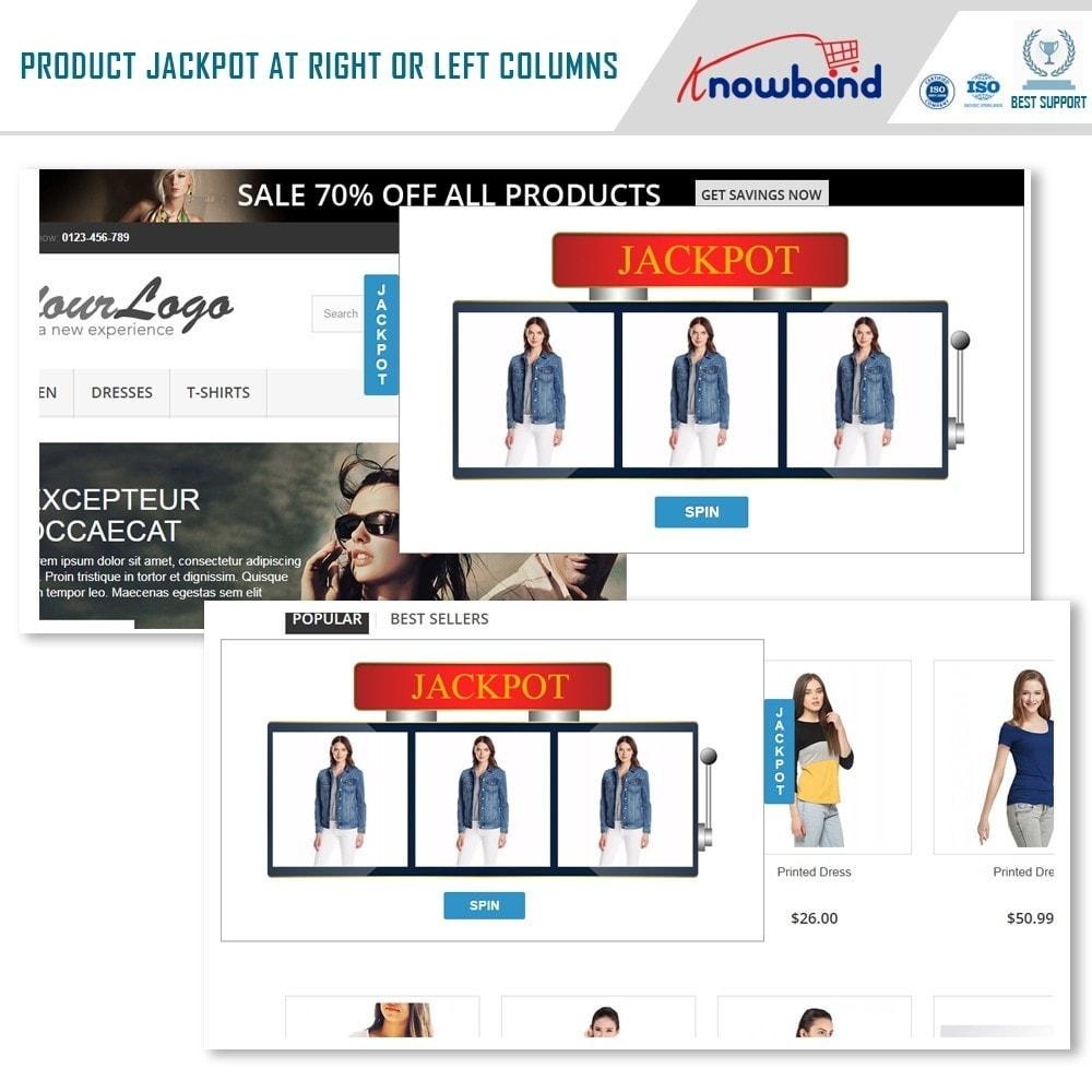 module - Promoties & Geschenken - Knowband - Product Jackpot - 2