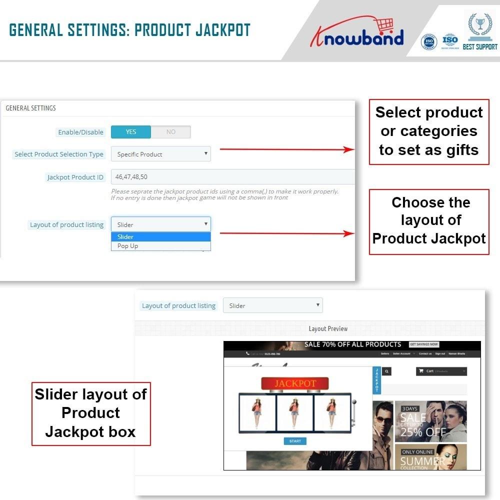 module - Promoties & Geschenken - Knowband - Product Jackpot - 4
