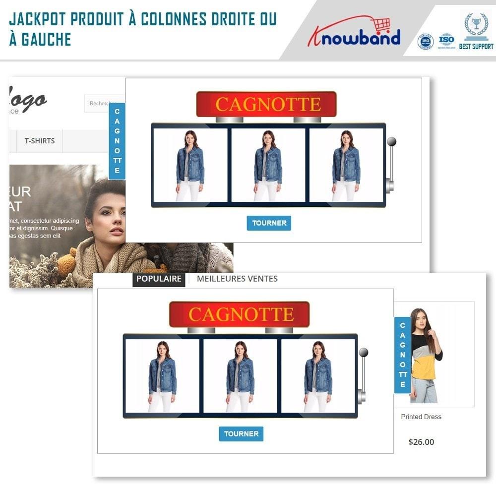module - Promotions & Cadeaux - Knowband - Jackpot Produit - 2