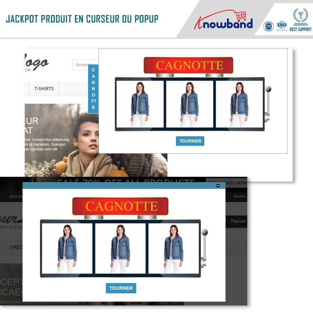 module - Promotions & Cadeaux - Knowband - Jackpot Produit - 3
