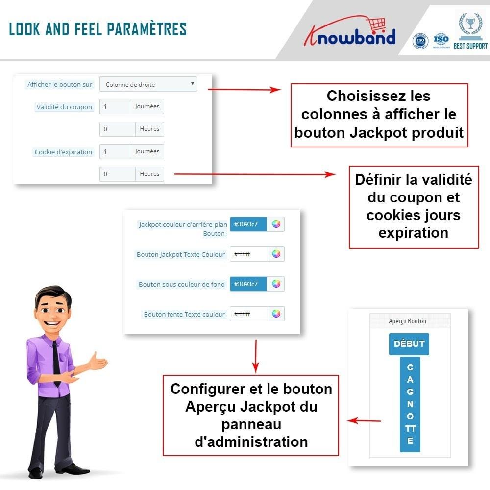 module - Promotions & Cadeaux - Knowband - Jackpot Produit - 5