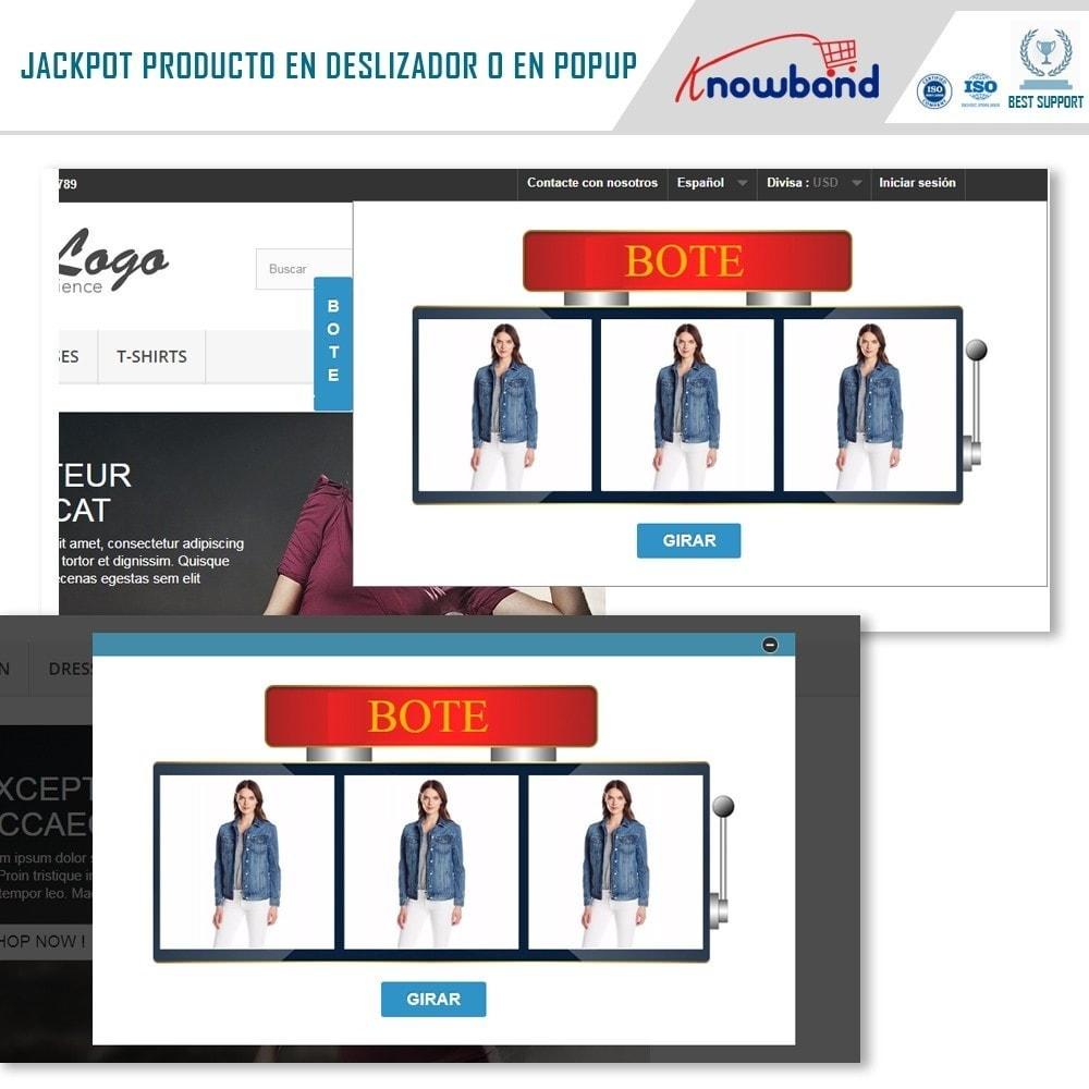 module - Promociones y Regalos - Knowband - Jackpot de Producto - 3