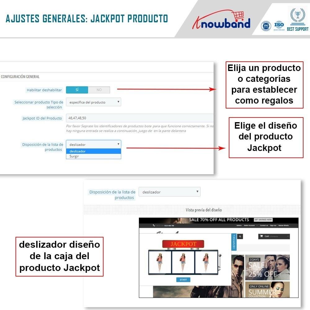 module - Promociones y Regalos - Knowband - Jackpot de Producto - 5