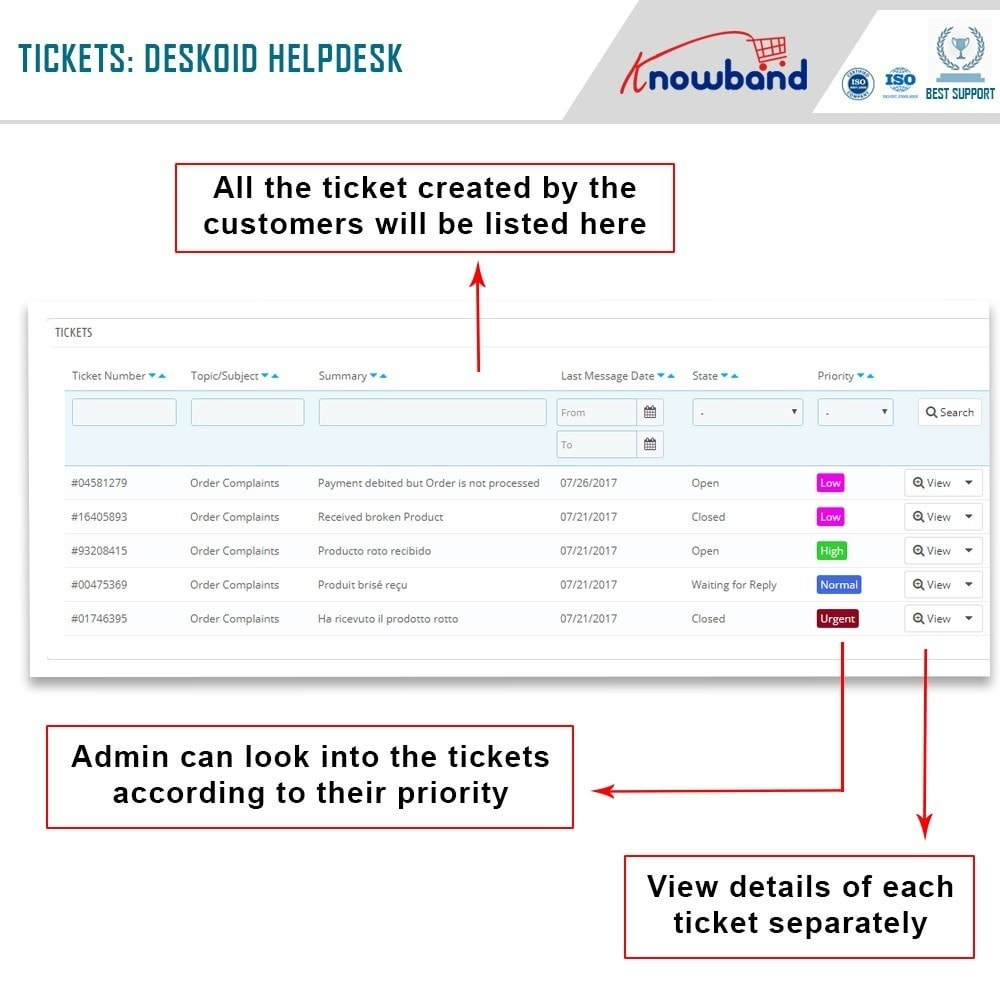 module - Customer Service - Knowband - Deskoid Helpdesk - 4