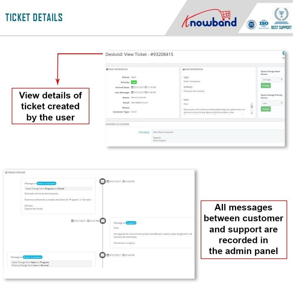 module - Customer Service - Knowband - Deskoid Helpdesk - 5