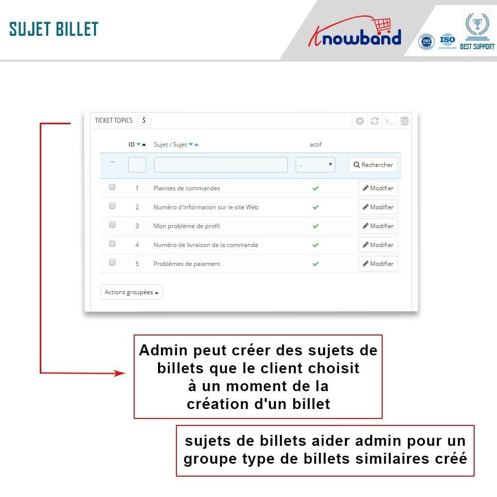 module - Service Client - Knowband - Centre d'assistance Deskoid - 7