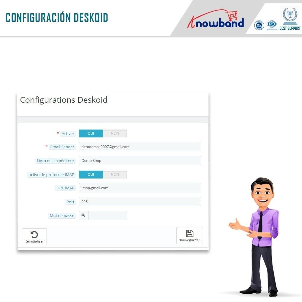 module - Servicio posventa - Knowband - Servicio de asistencia Deskoid - 8